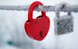 Lock Heart Mood Frozen HD Wallpaper 269x170